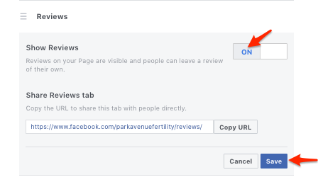 How to Turn on Reviews on Facebook 6