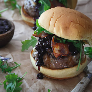 Blueberry BBQ Brie Burger.