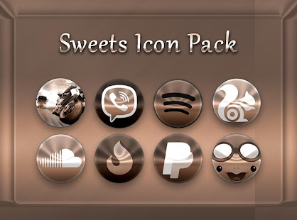 Sweets - Icon Pack Screenshot
