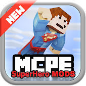 SuperHero MODS For MCPE