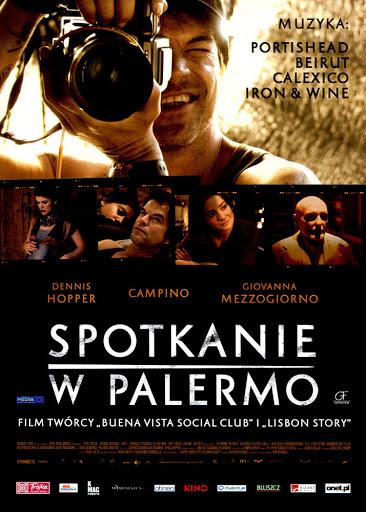 Przód ulotki filmu 'Spotkanie W Palermo'