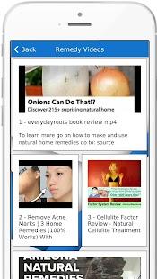 Natural Medical Remedies App - náhled
