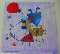 Photo: Rosa 5ºC -Collage Miró-