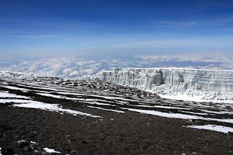 Photo: The upper part of the Kersten Glacier