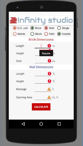 Brick Calculator screenshot 2