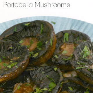 Grilled Portabella Mushrooms.