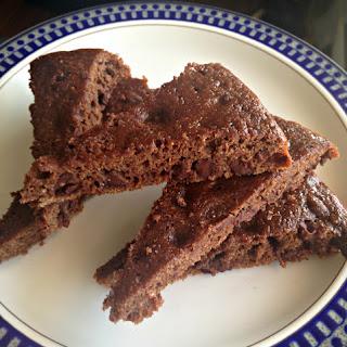 Chocolate-y Applesauce Brownies