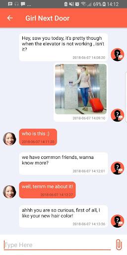 Anonymous Texting screenshots 1