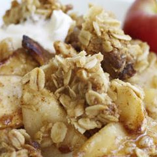 Apple-Oat Crisp