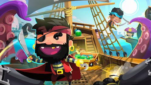 Pirate Kings: مغامرات الجُزر Mod