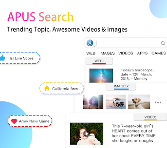 APUS Launcher – Theme, Wallpaper, Hide Apps 6