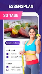 Abnehmen in 30 Tagen - Fitness & Workout Screenshot