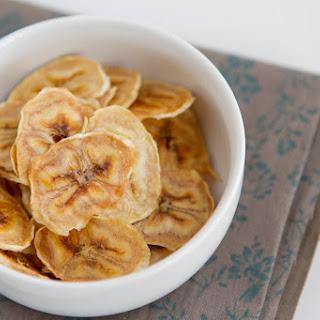 Baked Banana Chips.
