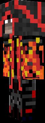 скины майнкрафт огненный маг #9