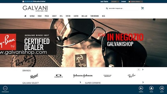 SHOP My-Galvani© screenshot 4