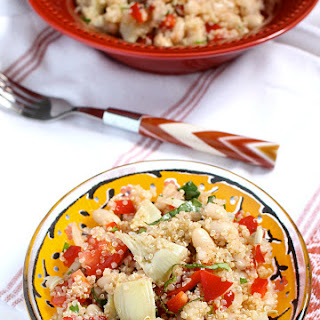10-Minute Italian Quinoa Salad with White Beans