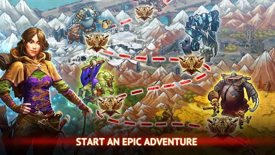 Guild of Heroes Apk Mod Dinheiro+Skill Infinito 10