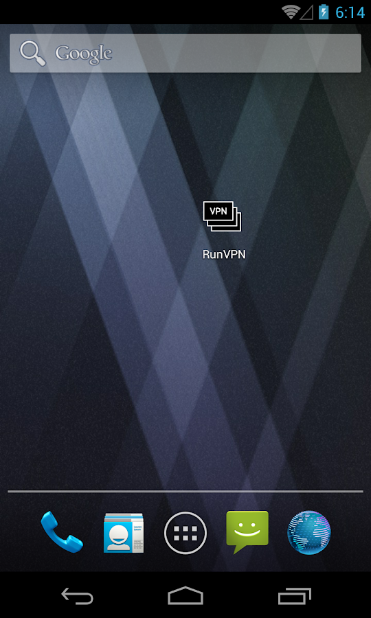 RunVPN- screenshot