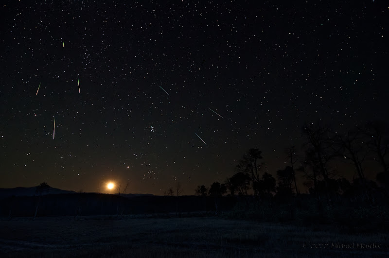 Photo: 2012 Perseid Meteor Shower Moonrise