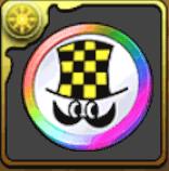 少チャンメダル【虹】