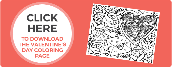 Free Printable Valentine S Day Coloring Page Hey Let S Make Stuff