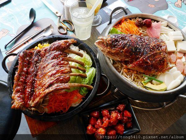 O八韓食新潮流,韓式料理推薦。餐點美味平價份量又超大,難怪不只有年輕人愛而已,風味部隊鍋跟特色石鍋是人氣必點喔