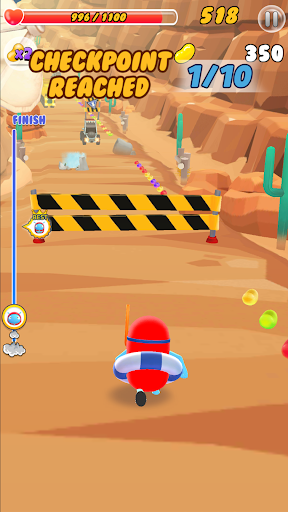 ZellyGo Dash - running game filehippodl screenshot 5