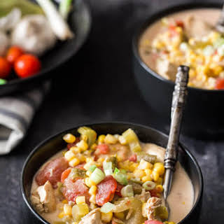 Slow Cooker Summer Corn Chowder.