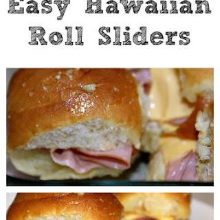 Easy Hawaiian Roll Sliders!!.
