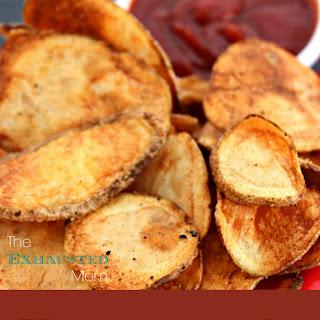 Homemade Potato Chips & Sriracha Sauce Recipe