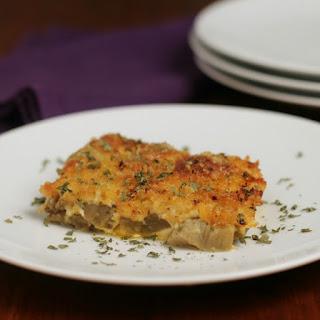 Cheesy Eggplant Casserole.