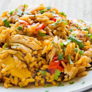 Cajun Chicken and Rice.