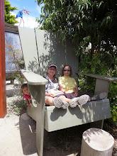 Photo: San Diego Botanical Gardens - Giant furniture