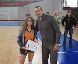 Photo: Najbolji server Emilija Bojić