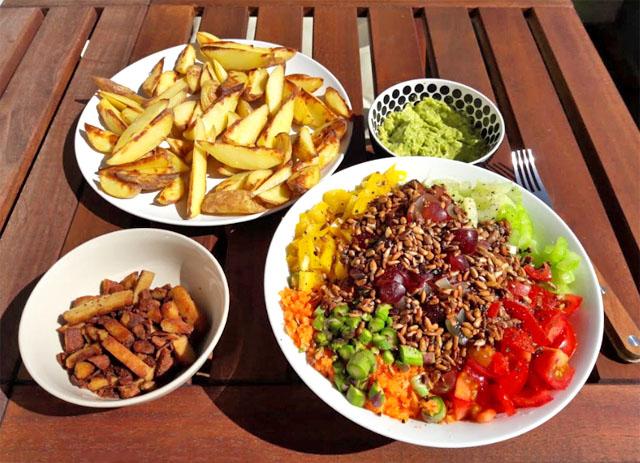 Salat gegen Heuschnupfen