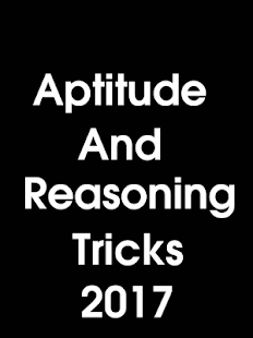 Reasoning and Aptitude Tricks रीजनिंग ट्रिक्स- screenshot thumbnail