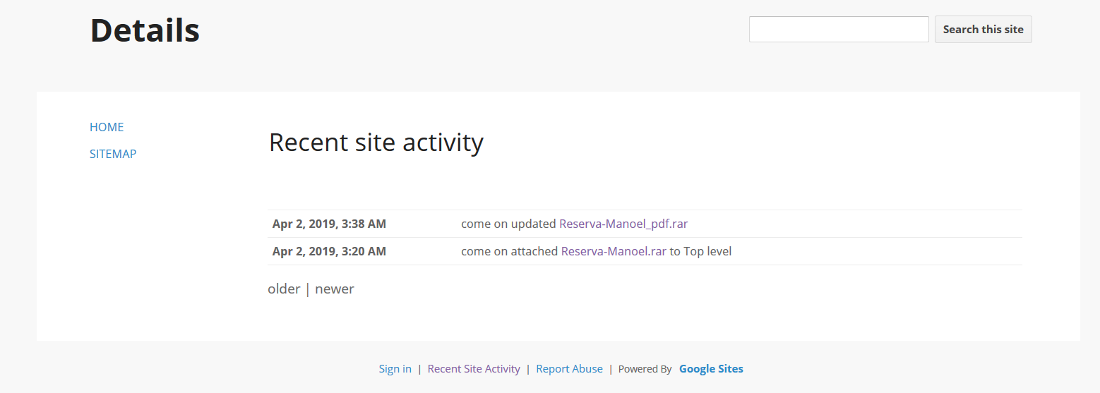 A Malicious Sight in Google Sites - Netskope