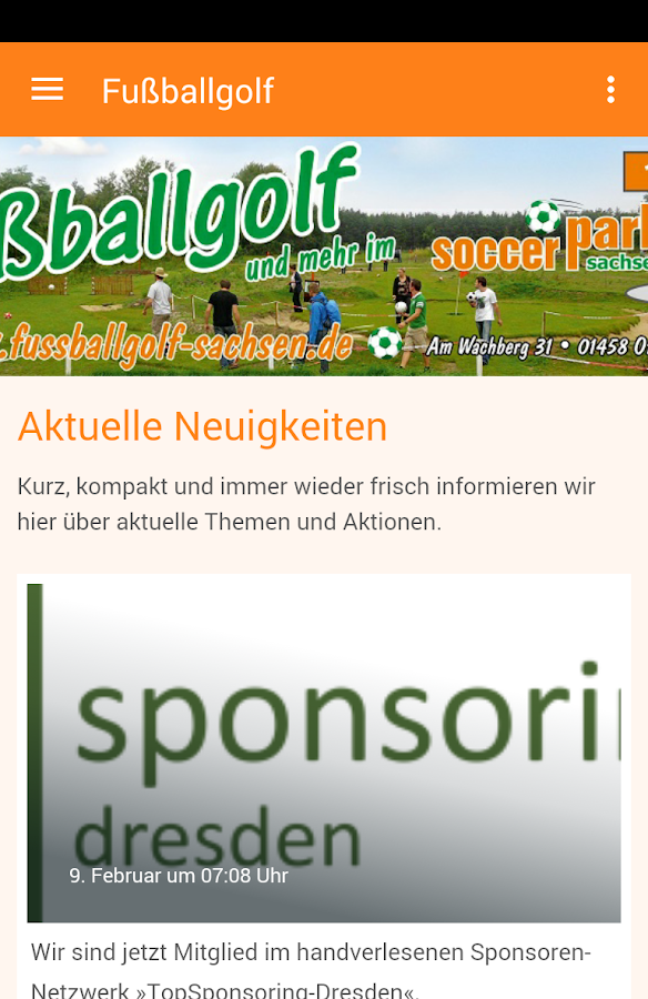 Soccergolf Sachsen- screenshot