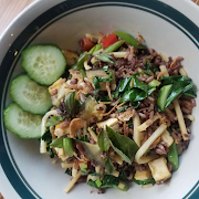 Green Curry Fried Rice
