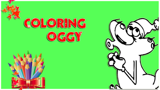 coloring pages for oggys screenshot thumbnail