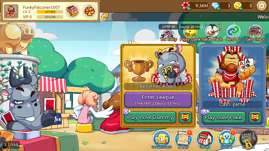 Free Poker Toon  Texas Online Card Game 8