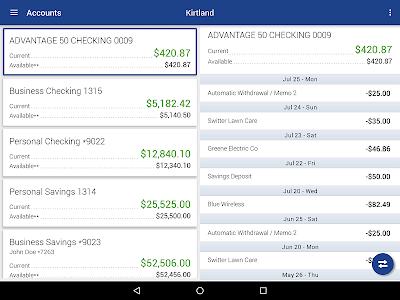 Kirtland FCU Mobile Banking screenshot 5