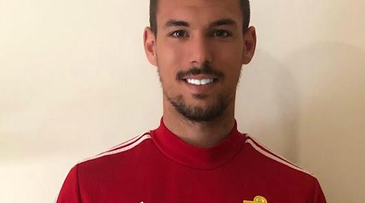 Rubén Enri, en casa.