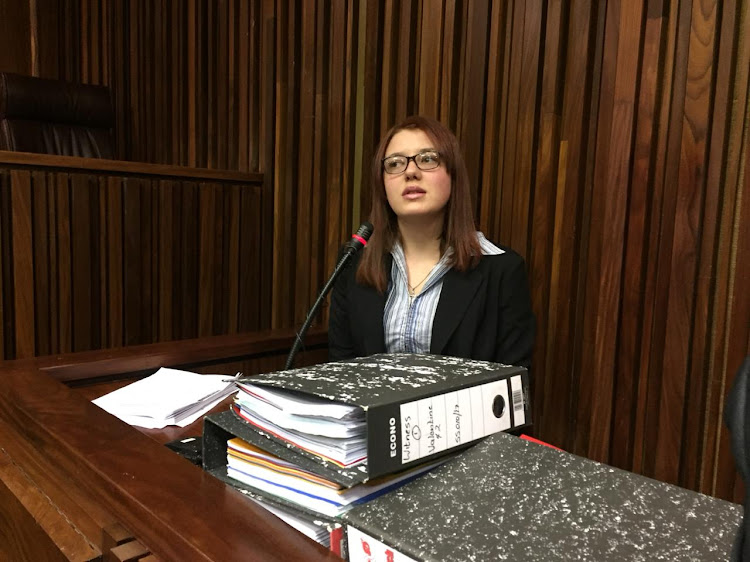 Marcel Steyn revealed gruesome details during her testimony in the Johannesburg high court on Monday May 13.