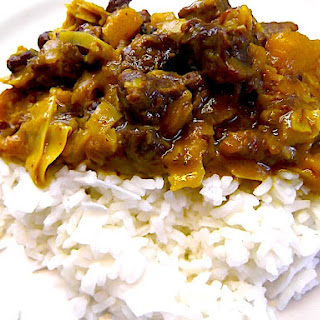 The Hirshon Cameroon Beef Curry.