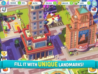 City Mania: Town Building Game APK screenshot thumbnail 10