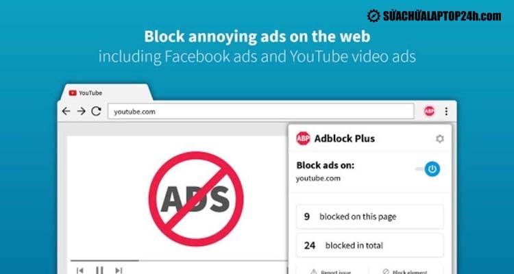 Trình chặn quảng cáo miễn phí Adblock Plush