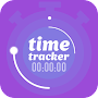 Time tracker, timesheet and time manager APK icon