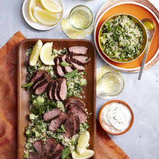 Lamb with Quinoa Tabouli.