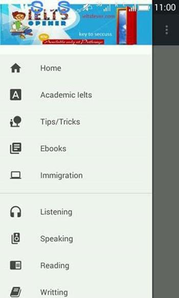 ielts fever- screenshot
